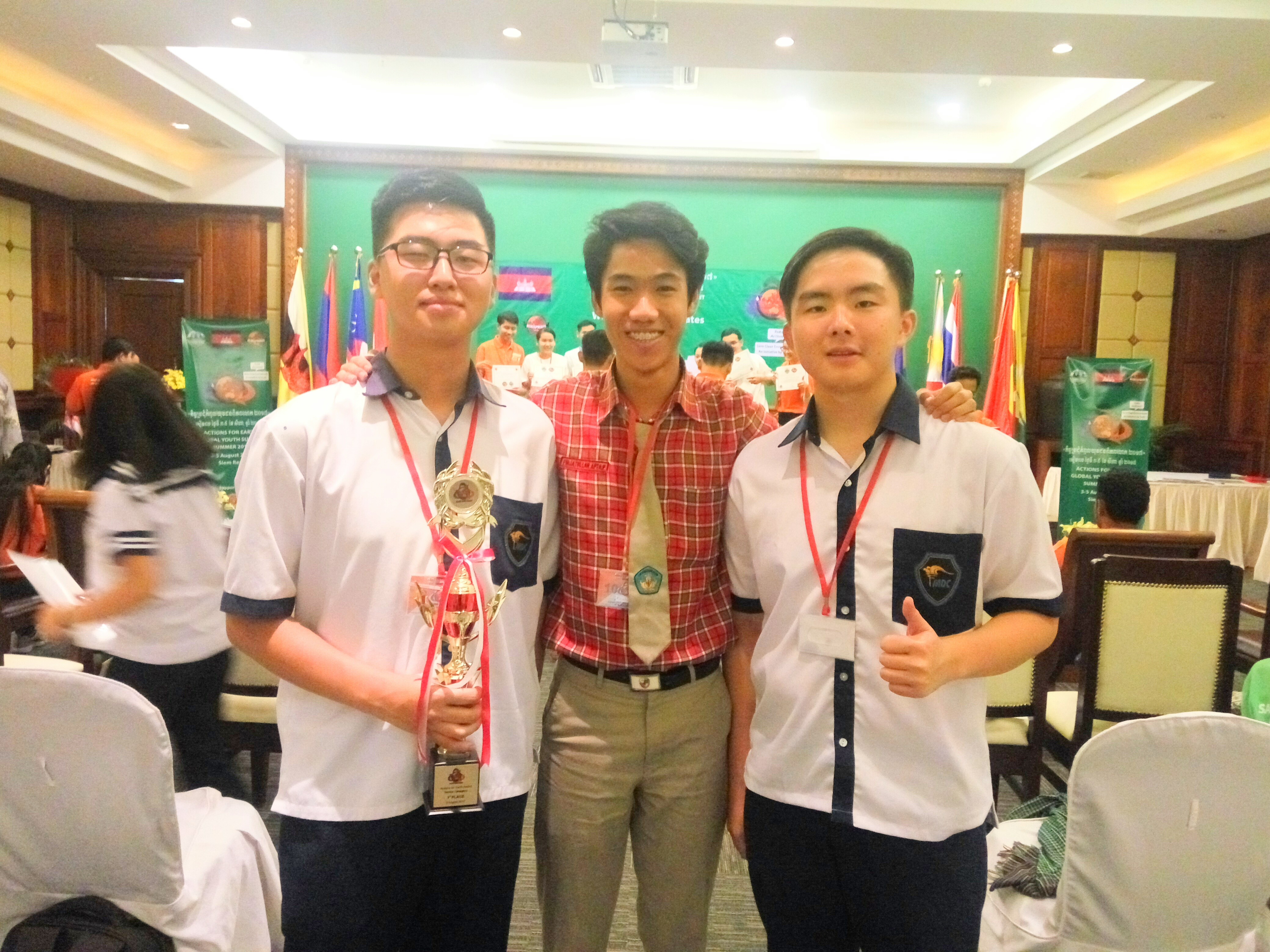 sman 1 magetan GYS 2017 cambodia